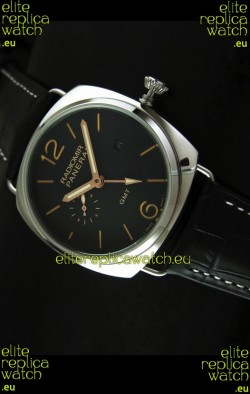 Panerai Radiomir GMT Japanese Replica Watch in Black Dial