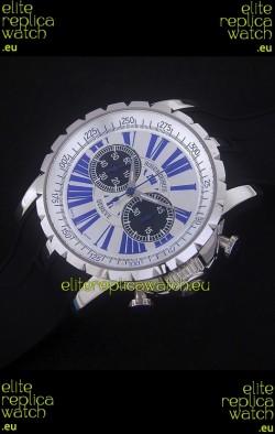 Roger Dubius Excalibur Chronograph Swiss Watch