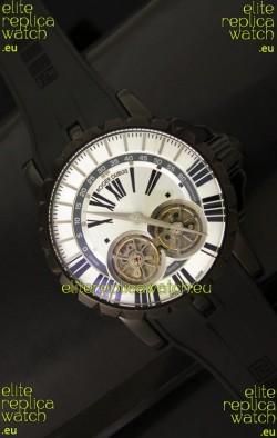 Roger Dubuis Chronoexcel Japanese Replica Automatic PVD Watch