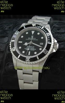 Rolex Sea-Dweller Swiss Replica Watch in Black Dial