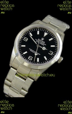 Rolex Explorer I Japanese Replica Steel Watch
