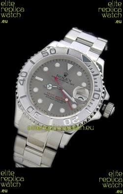 Rolex YachtmasterJapanese Replica Watch in Silver Dial