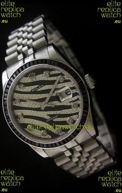 Rolex Datejust Mens JapaneseReplica Watch in Leopard Dial