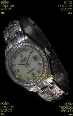 Rolex Day Date Diamonds Replica Watch