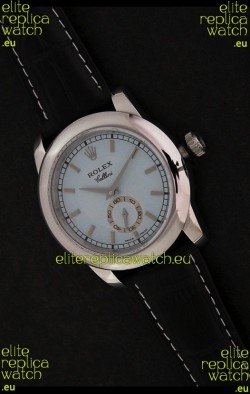 Rolex Cellini Japanese Replica Silver Watch