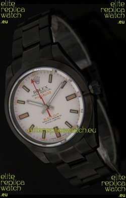 Rolex White Milgauss Black-Out SwissReplica Watch