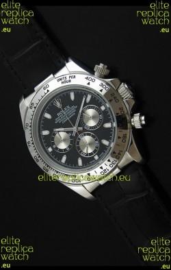 Rolex Daytona Japanese Replica Steel Watch in Silver Subdials