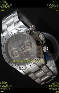 Rolex Daytona Japanese Replica Steel Watch in Arabic Markers