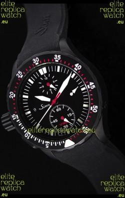 Sinn Deutsch Style U1000 EZM6 Swiss Chrono Watch