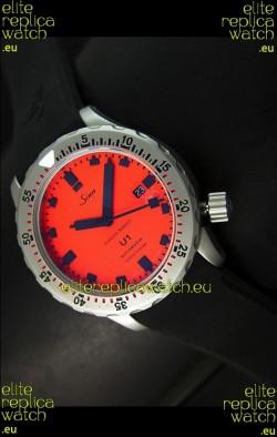 Sinn U1 Juweiler Roberto Limited Edition - 1:1 Mirror Replica Watch - Orange Dial