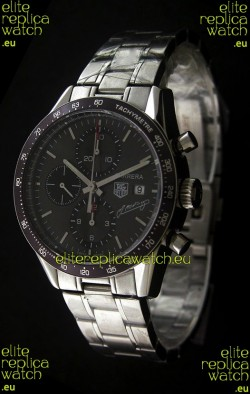Tag Heuer Carrera JM Fangio Limited Watch in Grey Dial