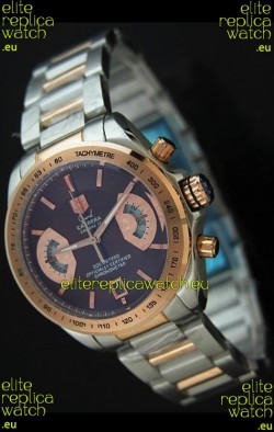 Tag Heuer Grand Carrera Calibre 17 Sport Ladies Watch in Brown Dial