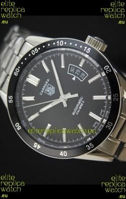 Tag Heuer Carrera Calibre 5 Swiss Replica Black Dial Watch