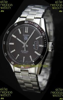 Tag Heuer Carrera Calibre 5 Swiss Replica Watch in Brown Dial