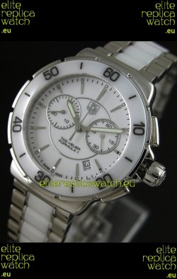 Tag Heuer Formula 1 Chronograph Swiss Replica Ceramic Ladies Watch
