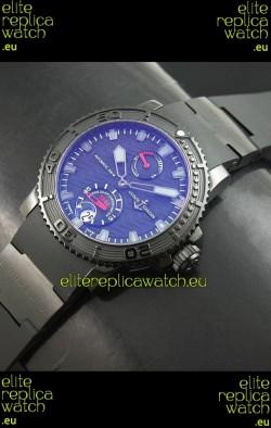 Ulysse Nardin No189 Swiss Watch in Black Dial