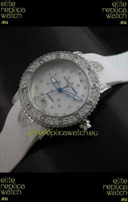 Ulysse Nardin Lady Diver White Starry Night Swiss Automatic Watch