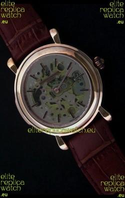 Vacheron Constantin Cabinotiers Japanese Quartz Watch in Rose Gold