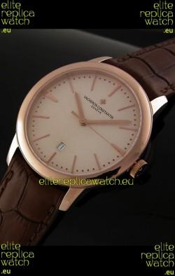 Vacheron Constantin Geneve Automatic Swiss Watch in Rose Gold
