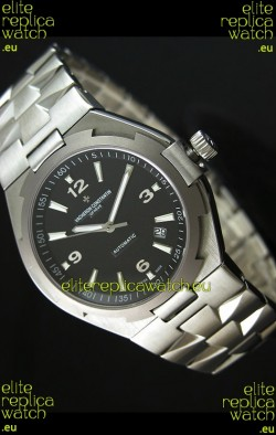 Vacheron Constantin Overseas Swiss Replica Watch - 1:1 Mirror Replica - Black Dial