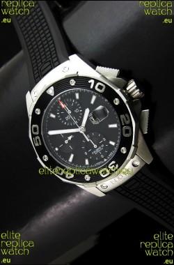 Tag Heuer Aquaracer Calibre 16Swiss Watch in Black Dial