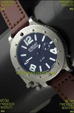 U Boat U-42 Diver Titanium Swiss Watch