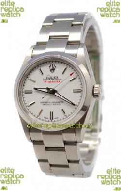 Rolex Milgauss Swiss Replica Watch - 40MM Off White Dial