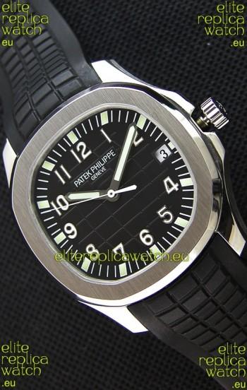 Patek Philippe Aquanaut 5167A-001 Swiss Replica Watch Black Dial - 1:1 Mirror Edition