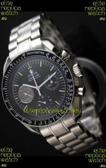 Omega Speedmaster Moonwatch Silver Apollo Swiss Watch