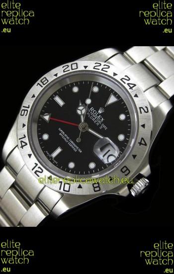 RolexExplorer II Japanese Replica Automatic Watch in Black Dial