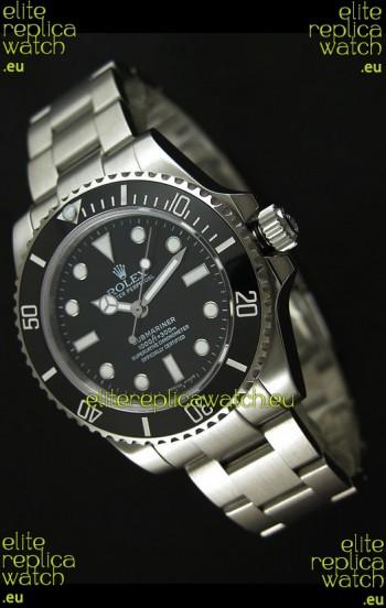 Rolex Submariner Swiss Replica Watch in Stainless Steel - Super Luminous Markers