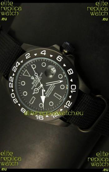 Rolex Explorer II Bamford Stealth Ghost Edition Replica Watch