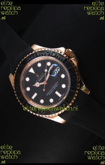 Rolex Yacht-Master 40 Oyster 40MM Watch in Everose Gold Swiss Watch